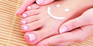 voet met smily