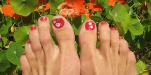 voet-rood